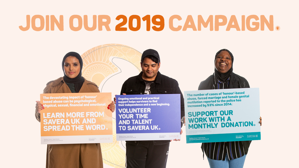 #imspeakingout - Our new campaign for 2019