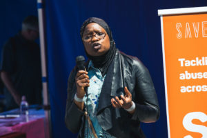 survivor of female genital mutilation