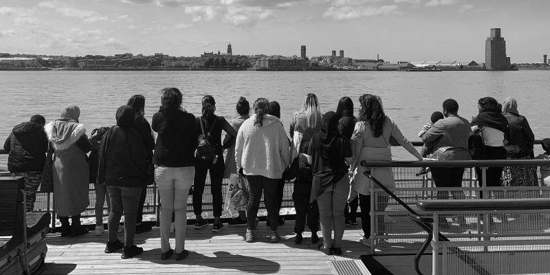 Friendship 'cross the Mersey